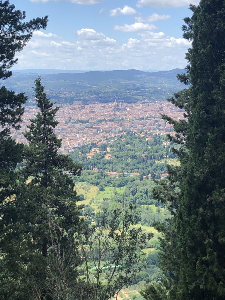 Florence View from Hills Path