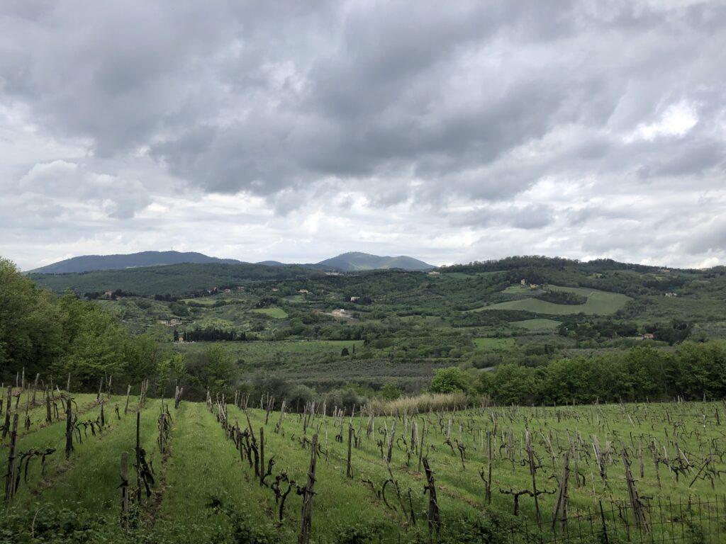 hiking tuscany