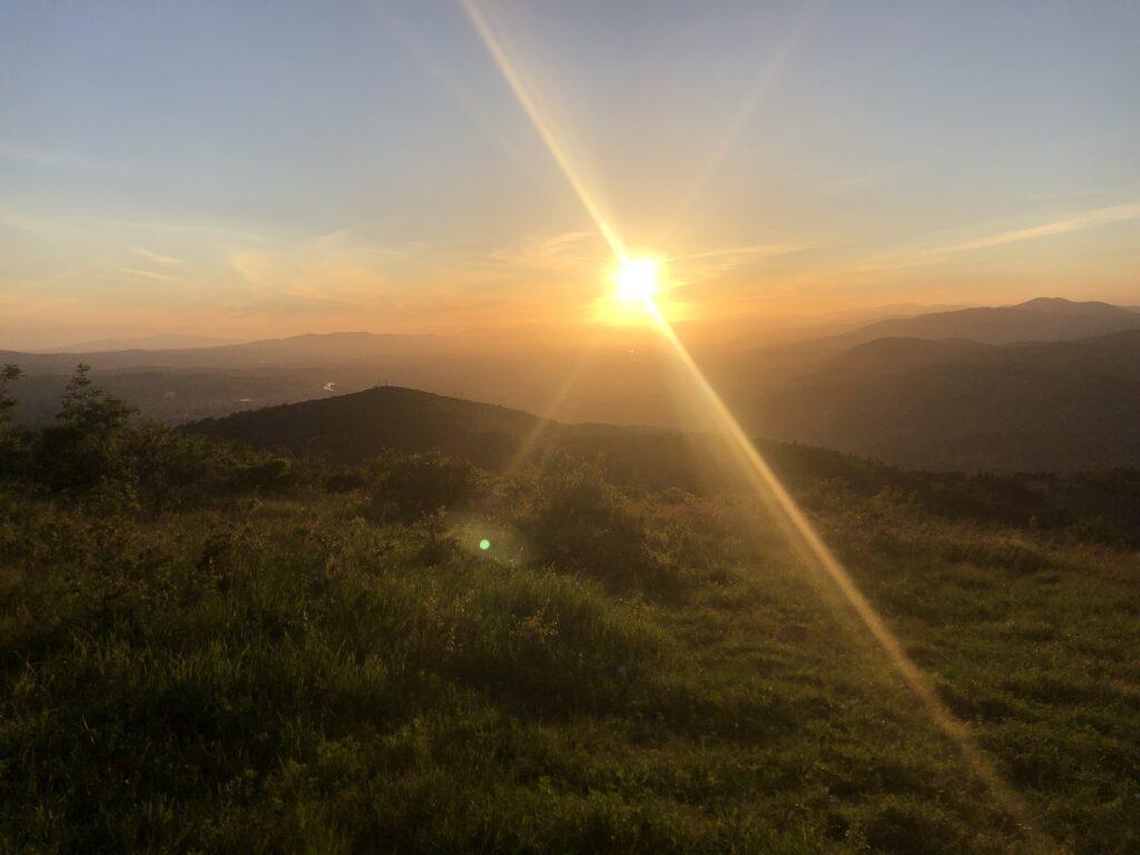 Sunset From Chianti