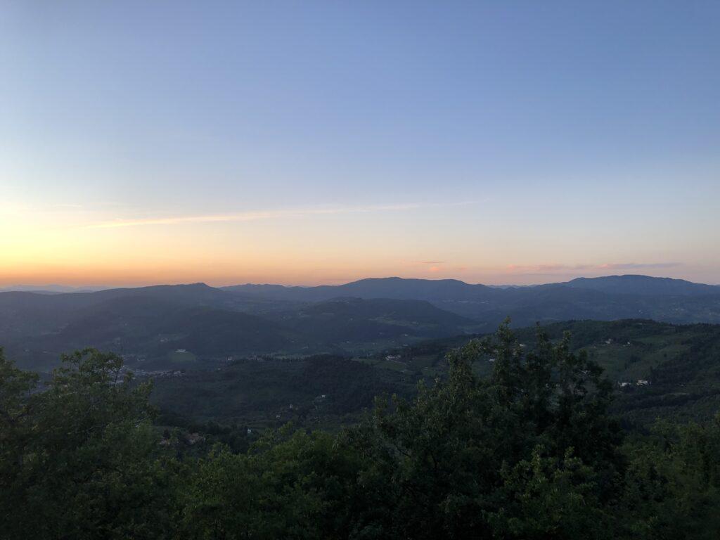 Sunset in Chianti