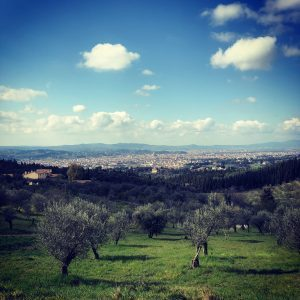 Florence view from the hike